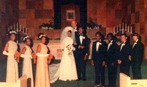 My Mom and Dad on their wedding day...