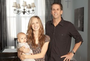 Olivia, an 18-year-old teen mom, and her father Mark, pastor of Everyday Church.