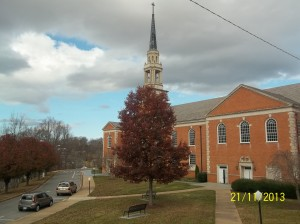 An outside of view of the beautiful chapel...