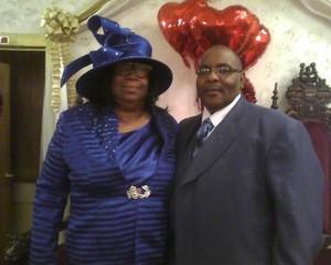 Pastor Johnnie Clark and First Lady Harriet Clark...