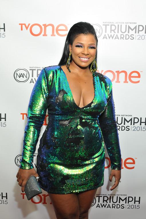 Singer Syleena Johnson