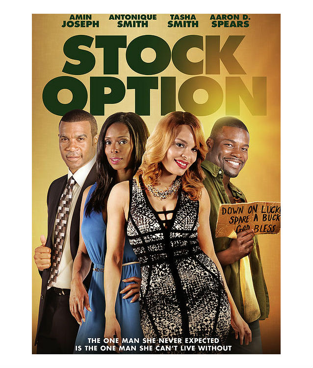 stock option movie poster