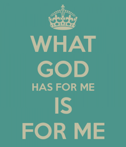what God has