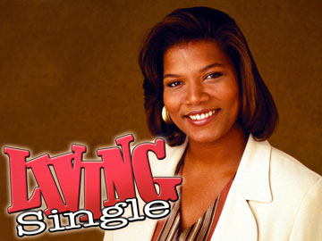Queen Latifah in Living Single.