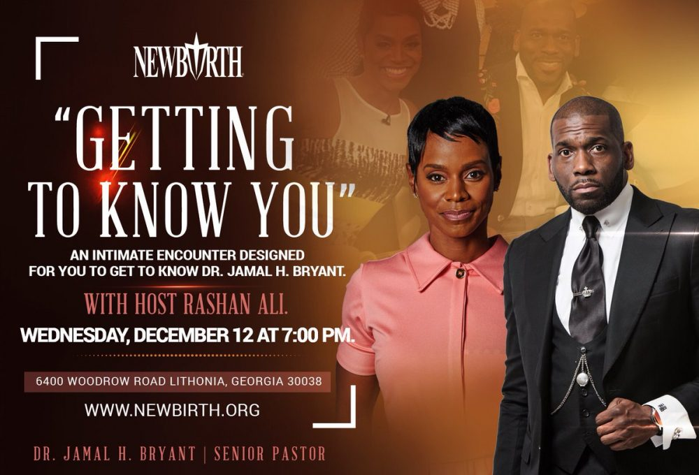 New Birth Missionary Baptist Church Holds 'Getting To Know You' - An
