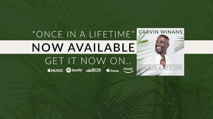 Legendary The Winans' Member Carvin Winans to Release First
